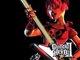 Papel de parede Guitar Hero – Guitarrista