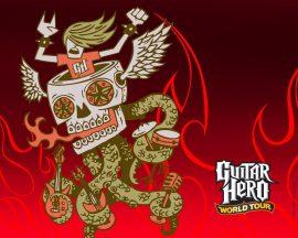Papel de parede Guitar Hero – Jogo