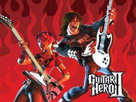 Papel de parede Guitar Hero – Playstation