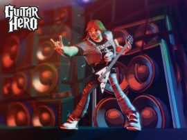 Papel de parede Guitar Hero – Rock