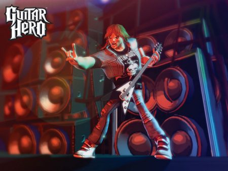 Papel de parede Guitar Hero – Rock para download gratuito. Use no computador pc, mac, macbook, celular, smartphone, iPhone, onde quiser!