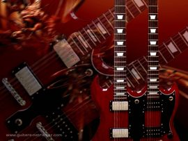 Papel de parede Guitarra #1