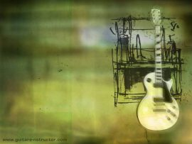 Papel de parede Guitarra #3