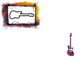 Papel de parede Guitarra #4