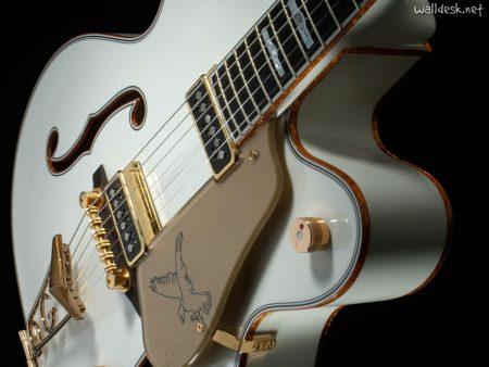 Papel de parede Guitarra Branca para download gratuito. Use no computador pc, mac, macbook, celular, smartphone, iPhone, onde quiser!