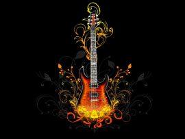 Papel de parede Guitarra mágica