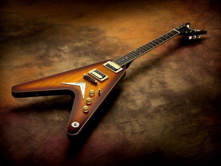 Papel de parede Guitarra V para download gratuito. Use no computador pc, mac, macbook, celular, smartphone, iPhone, onde quiser!