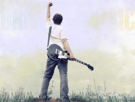 Papel de parede Guitarrista