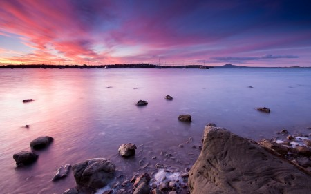 Papel de parede Vista do Mar na Nova Zelândia para download gratuito. Use no computador pc, mac, macbook, celular, smartphone, iPhone, onde quiser!