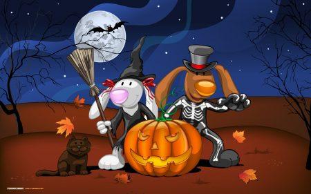 Papel de parede Halloween para download gratuito. Use no computador pc, mac, macbook, celular, smartphone, iPhone, onde quiser!
