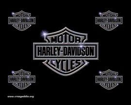 Papel de parede Harley Davidson Logotipo