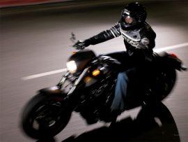 Papel de parede Harley Davidson na estrada