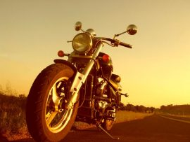 Papel de parede Harley recuperada