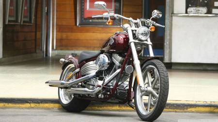 Papel de parede Harley Davidson Fat Bob para download gratuito. Use no computador pc, mac, macbook, celular, smartphone, iPhone, onde quiser!