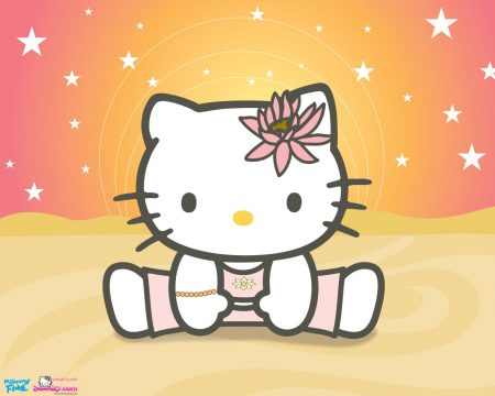Papel de parede Hello Kitty – Fofa para download gratuito. Use no computador pc, mac, macbook, celular, smartphone, iPhone, onde quiser!