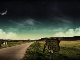 Papel de parede Highway