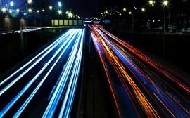 Papel de parede Luzes da Cidade
