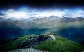 Papel de parede A Beleza das Montanhas