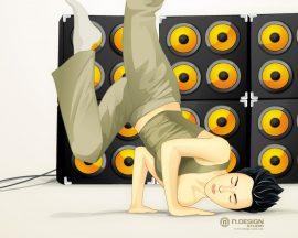 Papel de parede Hip Hop – Dança