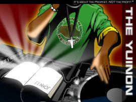 Papel de parede Hip Hop – DJ com Bíblia