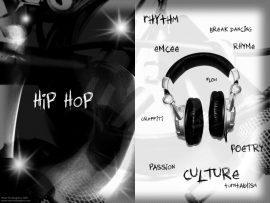 Papel de parede Hip hop – fones