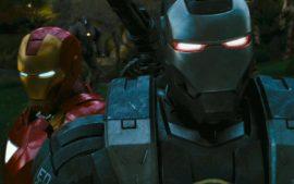 Papel de parede Homem de Ferro 2 – Armaduras