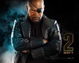 Papel de parede Homem de Ferro 2 – Nick Fury