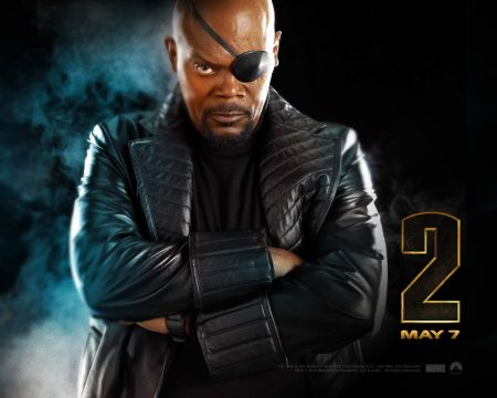 Papel de parede Homem de Ferro 2 – Nick Fury para download gratuito. Use no computador pc, mac, macbook, celular, smartphone, iPhone, onde quiser!