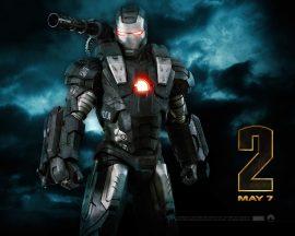 Papel de parede Homem de Ferro 2 – Rhodey