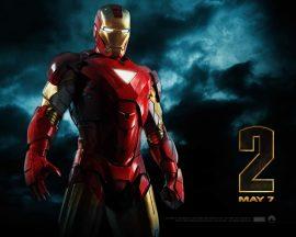 Papel de parede Homem de Ferro 2