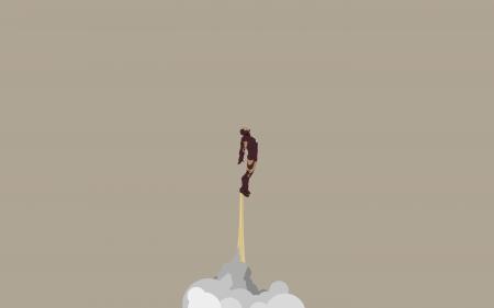 Papel de parede Homem de Ferro Decolando para download gratuito. Use no computador pc, mac, macbook, celular, smartphone, iPhone, onde quiser!