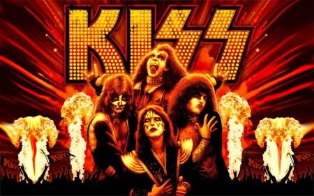 Papel de parede Homenagem a Kiss para download gratuito. Use no computador pc, mac, macbook, celular, smartphone, iPhone, onde quiser!