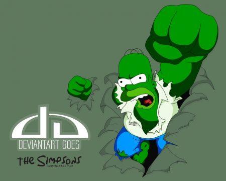 Papel de parede Homer Hulk para download gratuito. Use no computador pc, mac, macbook, celular, smartphone, iPhone, onde quiser!