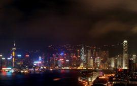 Papel de parede Hong Kong