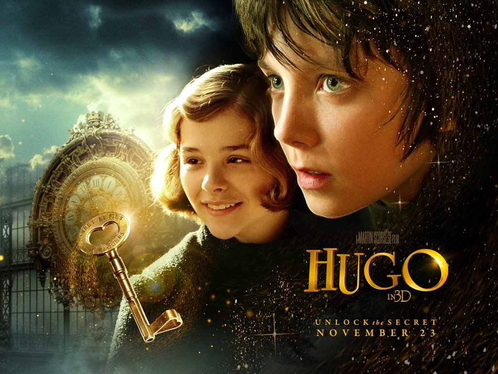 Papel de parede Filme: A invenção de Hugo Cabret para download gratuito. Use no computador pc, mac, macbook, celular, smartphone, iPhone, onde quiser!