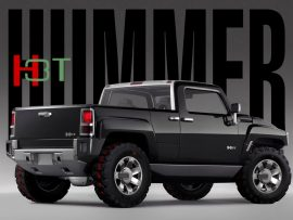 Papel de parede Hummer H3T