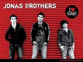 Papel de parede I Love Jonas Brothers