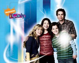 Papel de parede iCarly – Carly e seus amigos
