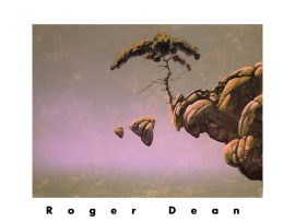 Papel de parede Incrível arte de Roger Dean