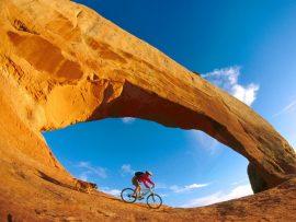 Papel de parede Incrível Mountain Bike