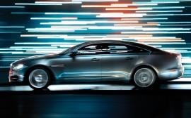 Papel de parede Jaguar XJ Prata