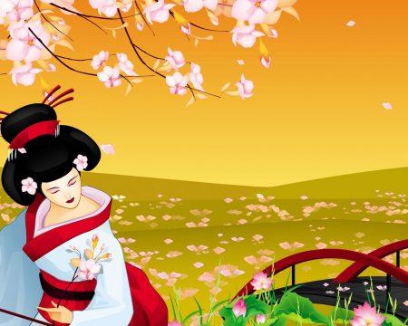 Papel de parede Japão – Gueixa para download gratuito. Use no computador pc, mac, macbook, celular, smartphone, iPhone, onde quiser!
