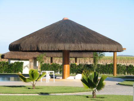 Papel de parede Jardim com Cabana para download gratuito. Use no computador pc, mac, macbook, celular, smartphone, iPhone, onde quiser!