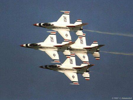 Papel de parede Jatos Força Aérea Americana para download gratuito. Use no computador pc, mac, macbook, celular, smartphone, iPhone, onde quiser!