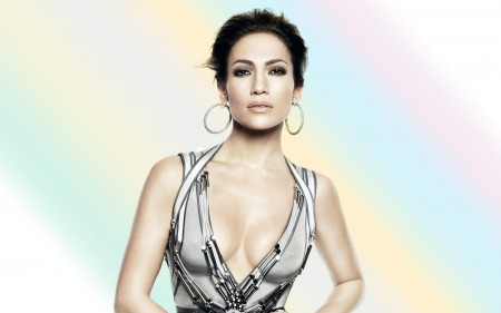 Papel de parede Jennifer Lopez e o Arco-Íris para download gratuito. Use no computador pc, mac, macbook, celular, smartphone, iPhone, onde quiser!