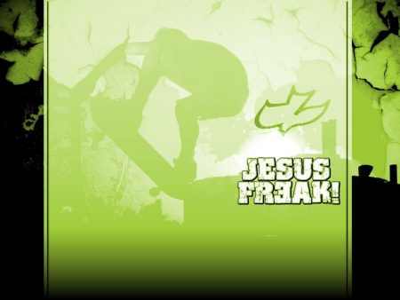 Papel de parede Jesus Freak para download gratuito. Use no computador pc, mac, macbook, celular, smartphone, iPhone, onde quiser!