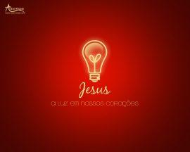Papel de parede Jesus: Luz em nossos corações