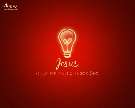 Papel de parede Jesus: Luz em nossos corações para download gratuito. Use no computador pc, mac, macbook, celular, smartphone, iPhone, onde quiser!