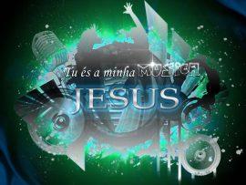 Papel de parede Jesus, minha música