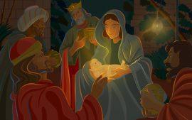 Papel de parede Jesus Nasceu!